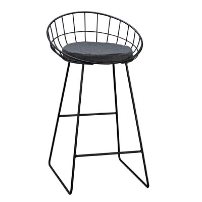 Natasa Bar Stool With Cushion