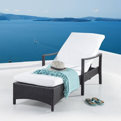 Northville Chaise Lounge with Cushion