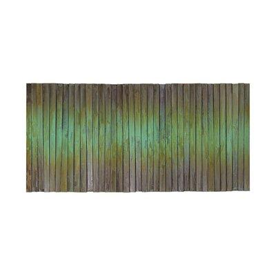 Brayden Studio Oxidized Copper Metal Wave Wall Décor