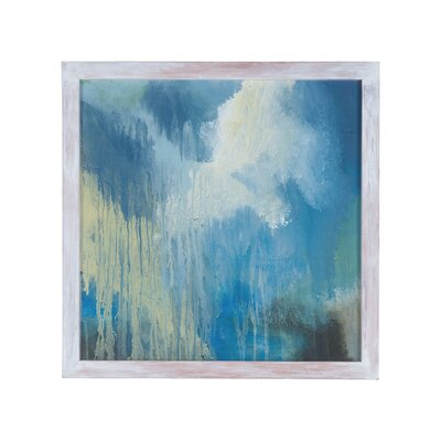 Blue Skies Two Framed Painting Print