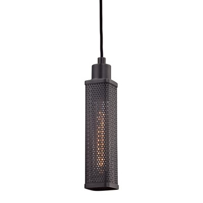 Oxon Hill 1-Light Mini Pendant Finish: Old Bronze