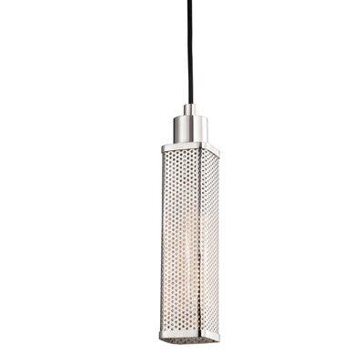 Oxon Hill 1-Light Mini Pendant Finish: Polished Nickel