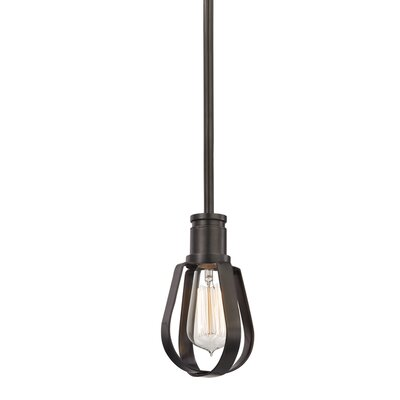 Salia 1-Light Mini Pendant Finish: Old Bronze