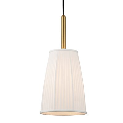 Rocco 1-Light Inverted Pendant Finish: Aged Brass