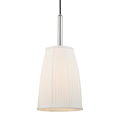 Rocco 1-Light Inverted Pendant Finish: Polished Nickel