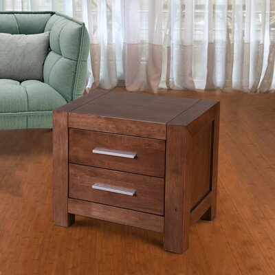 Sagittarius 2 Drawer Nightstand