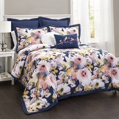 Metrocles 7 Piece Comforter Set Size: Full/Queen