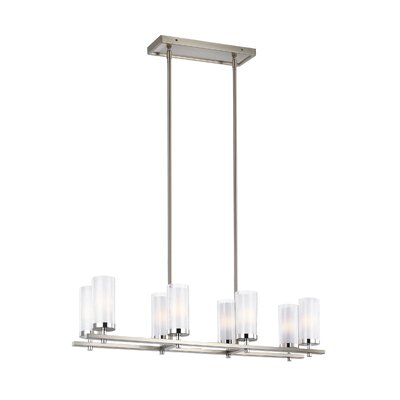 Mikolas 8-Light Kitchen Island Pendant