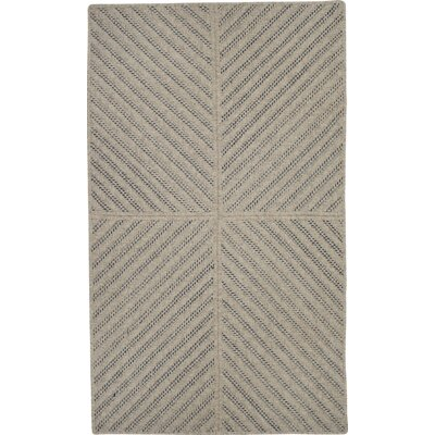 Loya Hand-Woven Brown Indoor Area Rug Rug Size: 5 x 7