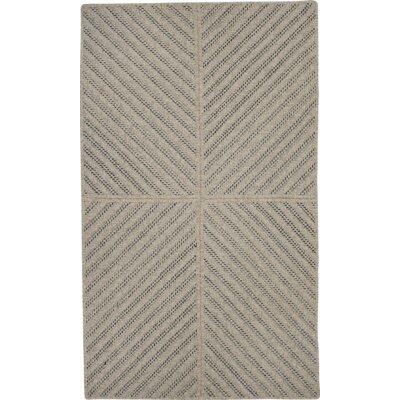 Loya Hand-Woven Brown Indoor Area Rug Rug Size: 5' x 7'