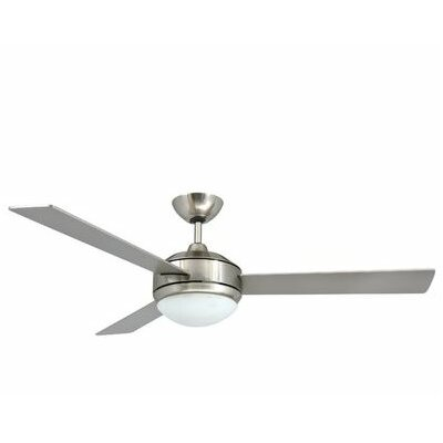 2-Light Bowl 3 Blade Ceiling Fan