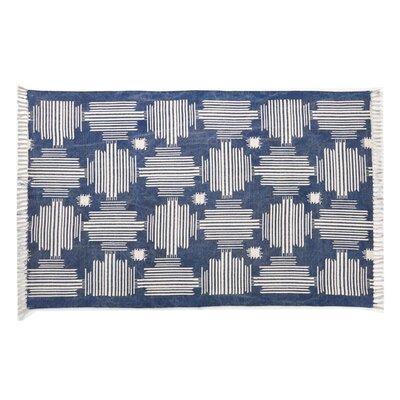 Moravian Blue/Beige Area Rug