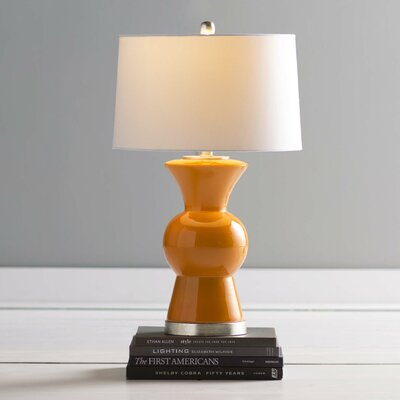 Shoemaker 26 Table Lamp Base Finish: Persimmon