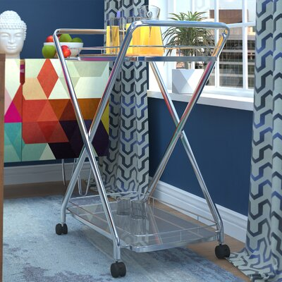 Brayden Studio Spaulding Bar Cart