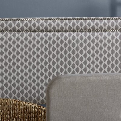 Clybourn Upholstered Panel Headboard Size: Queen