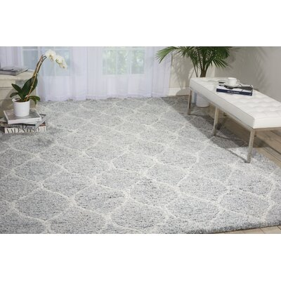 North Moore Hand-Tufted Light Grey Area Rug Rug Size: 5 x 7