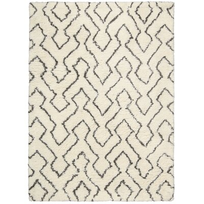 North Moore Ivory/Chocolate Area Rug