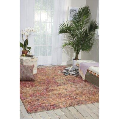 Nyssa Hand-Tufted Area Rug Rug Size: 86 x 114
