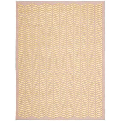 Rensselear Blush Area Rug Rug Size: Rectangle 56 x 76
