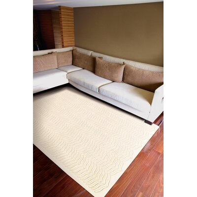 Rensselear Ivory Area Rug Rug Size: Rectangle 79 x 99