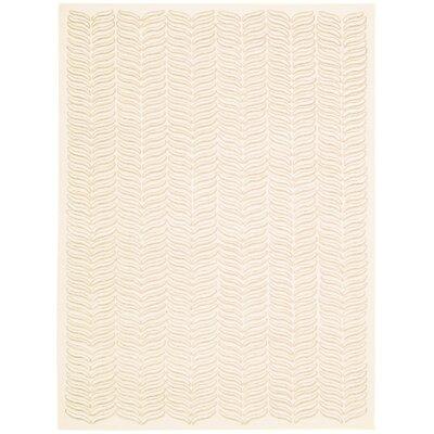 Rensselear Ivory Area Rug Rug Size: 79 x 99