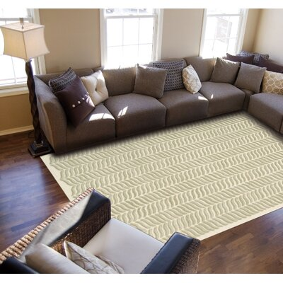Rensselear Light Green Area Rug Rug Size: Rectangle 56 x 76