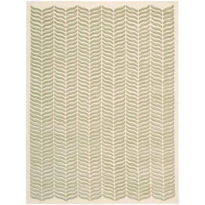Rensselear Tan Area Rug Rug Size: 56 x 76