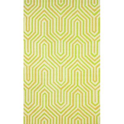 Seleucia Light Green Demi Rug Rug Size: 76 x 96