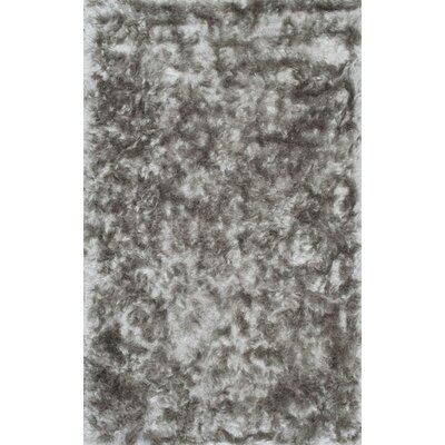 Sisyphus Hand-Woven Silver Area Rug Rug Size: Rectangle 76 x 96