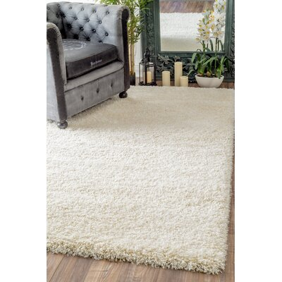 Lippert Ivory Area Rug Rug Size: 53 x 77