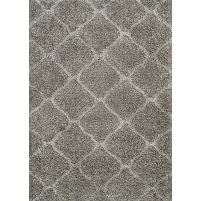 Oestreich Slate Gray Area Rug Rug Size: 76 x 96