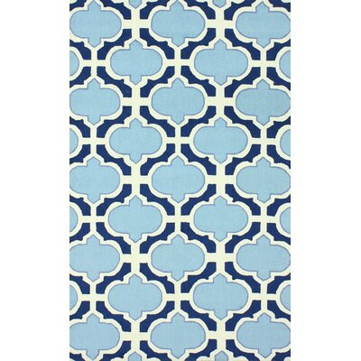 Oneil Blue Area Rug Rug Size: 5 x 8