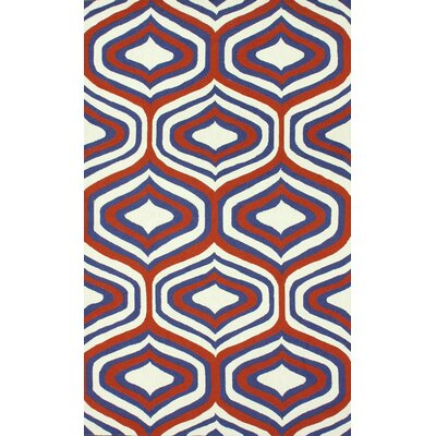 Oneil Orange Sandra Area Rug Rug Size: 5' x 8'