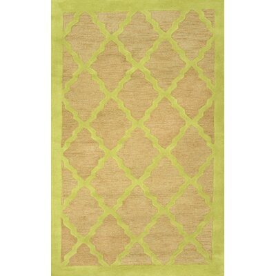 Orner Apple Green Cyash Rug Rug Size: 5' x 8'