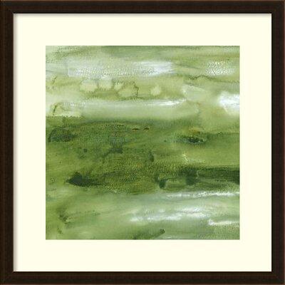 Malachite I Framed Painting Print