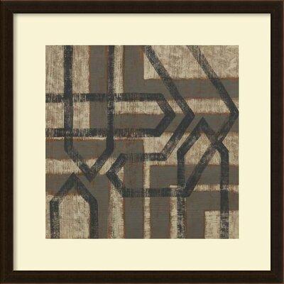 Directional II Framed Wall Art