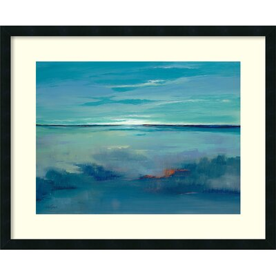 Blue Ciel Framed Photographic Print