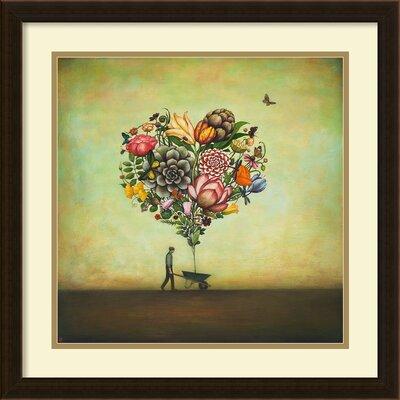 Big Heart Botany Framed Painting Print