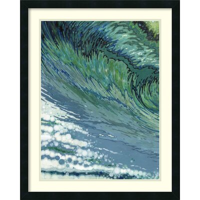 Churning Framed Painting Print