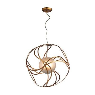 Salacia 3-Light Globe Pendant Size: 20 H x 20 W x 20 D