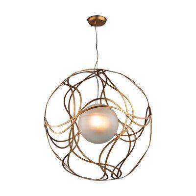 Salacia 3-Light Globe Pendant Size: 27 H x 27 W x 27 D