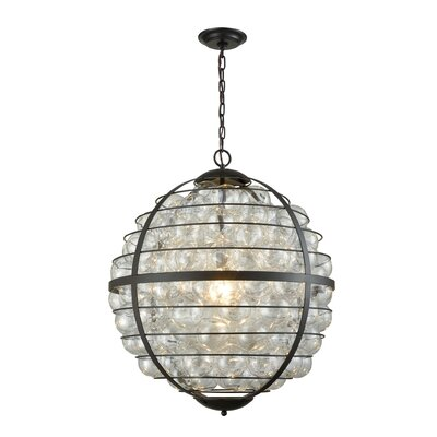 St. Marks Place 1-Light Globe Pendant