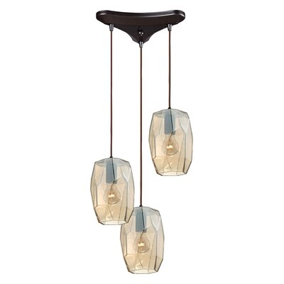 Stanwyck 3-Light Pendant Finish: Oil Rubbed Bronze