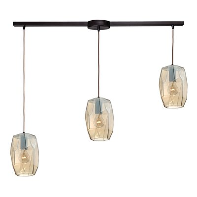 Staple Hill 3-Light Kitchen Island Pendant Finish: Oil Rubbed Bronze