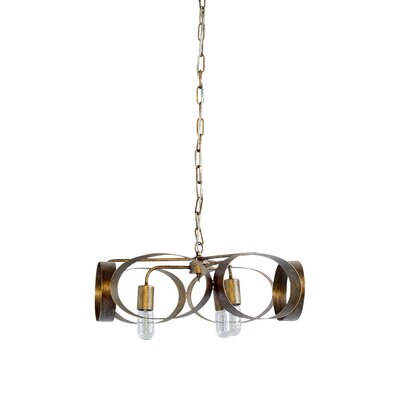 Naccarato 3-Light Geometric Pendant