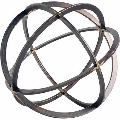 Brayden Studio Round Copper Sculpture