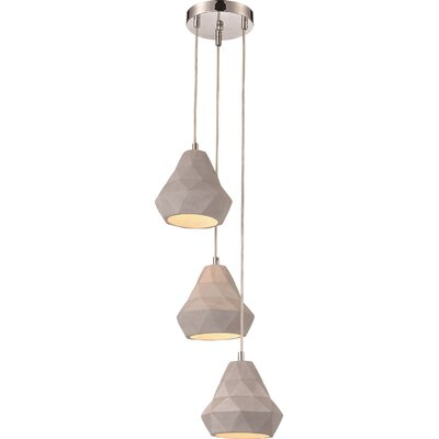 Battin 3-Light Kitchen Island Pendant
