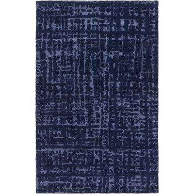 Smithfield Hand-Tufted Violet/Dark Blue Area Rug Rug size: 33 x 53