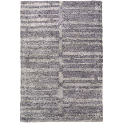 Scylla Hand-Tufted Charcoal/Medium Gray Area Rug Rug size: Rectangle 33 x 53