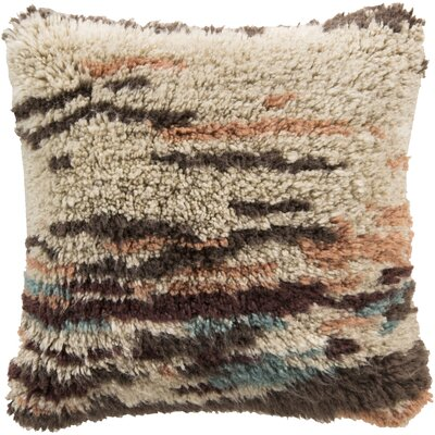 Shoko 100% Wool Throw Pillow Cover